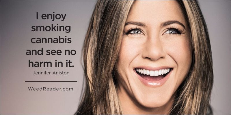 celebrities smoke pot