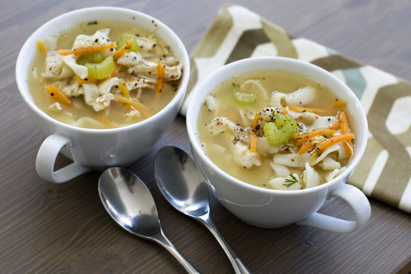 infused chicken noodle soup
