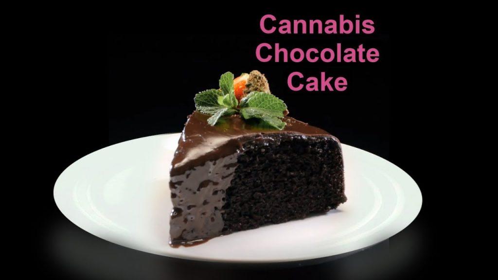 Cannabis-Infused Chocolate Cake