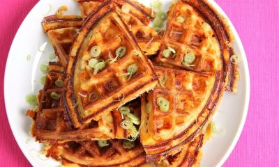 BHO Bacon and Cheese Waffles