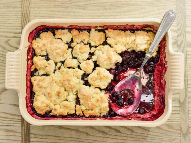 Red White and Blueberry Cobbler – Infused Goodness