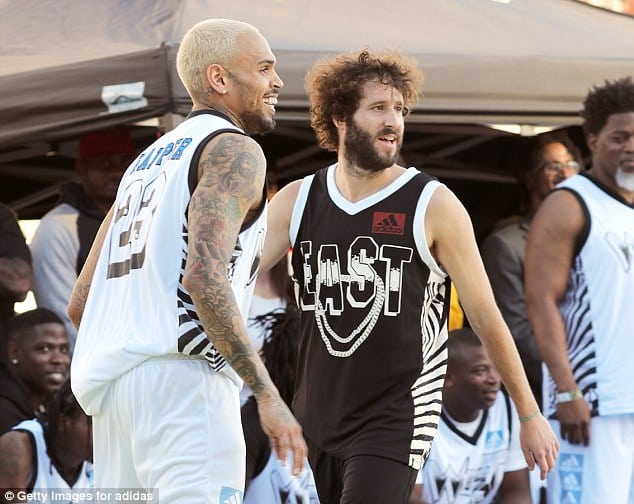 Chris Brown takes on Lil' Dicky