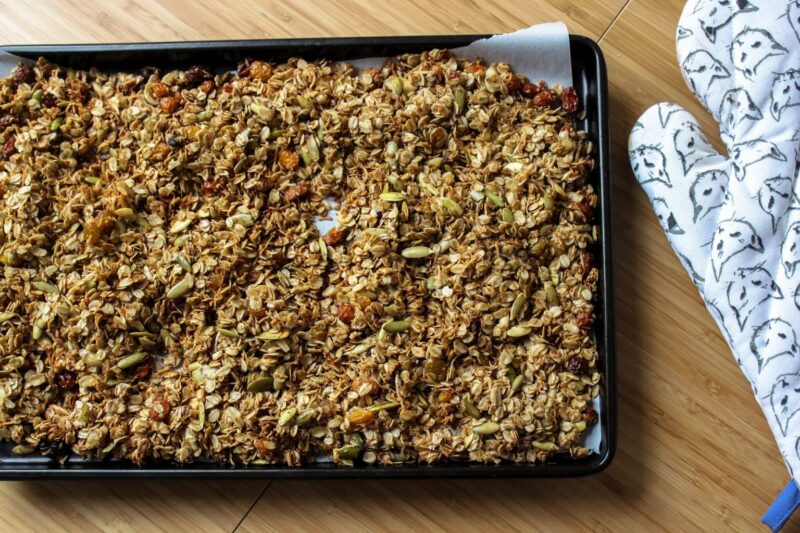 Granola: Homemade and Infused with Cannabis