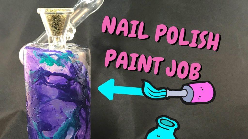 nail polish bong