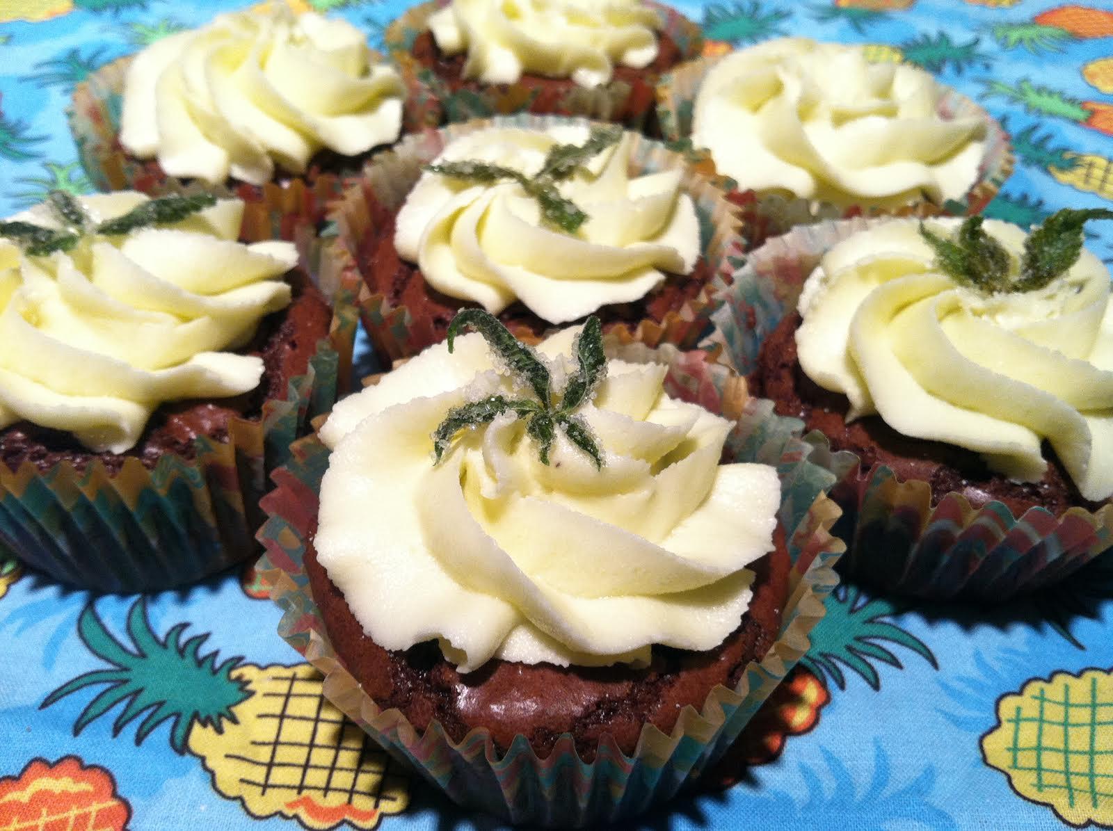 cannabis cupcakes