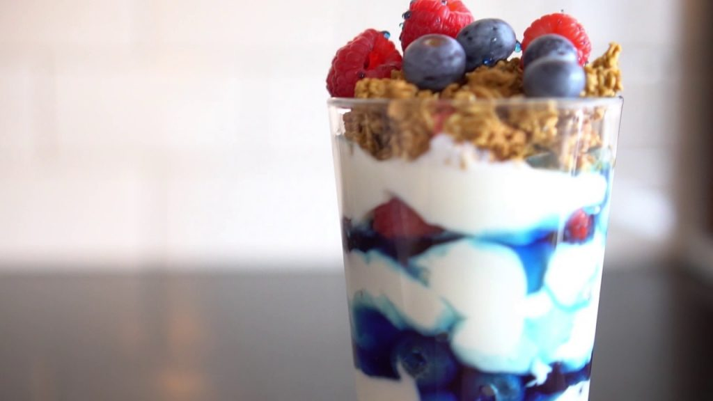 super lemon haze yogurt parfait