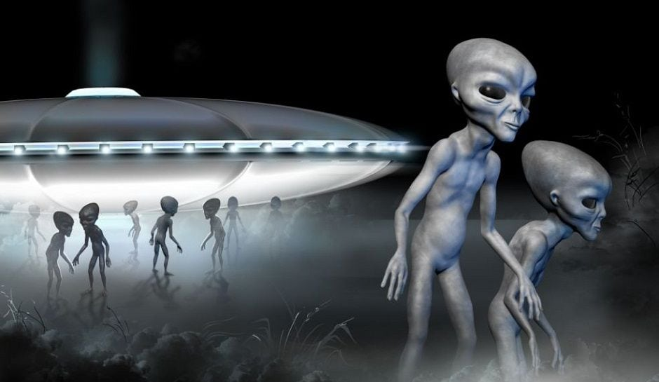 #ConspiracyFiles Aliens Are Already Walking Among Us