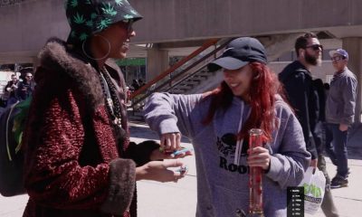 420 at Nathan Phillips Square in Toronto