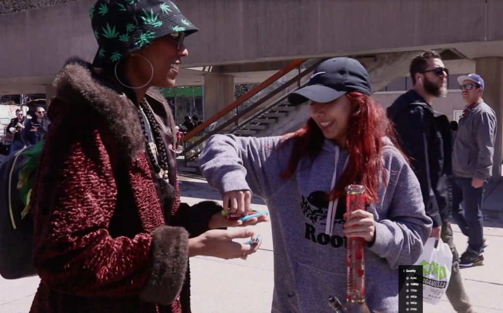HigherMentality Hits 420 at Nathan Phillips Square