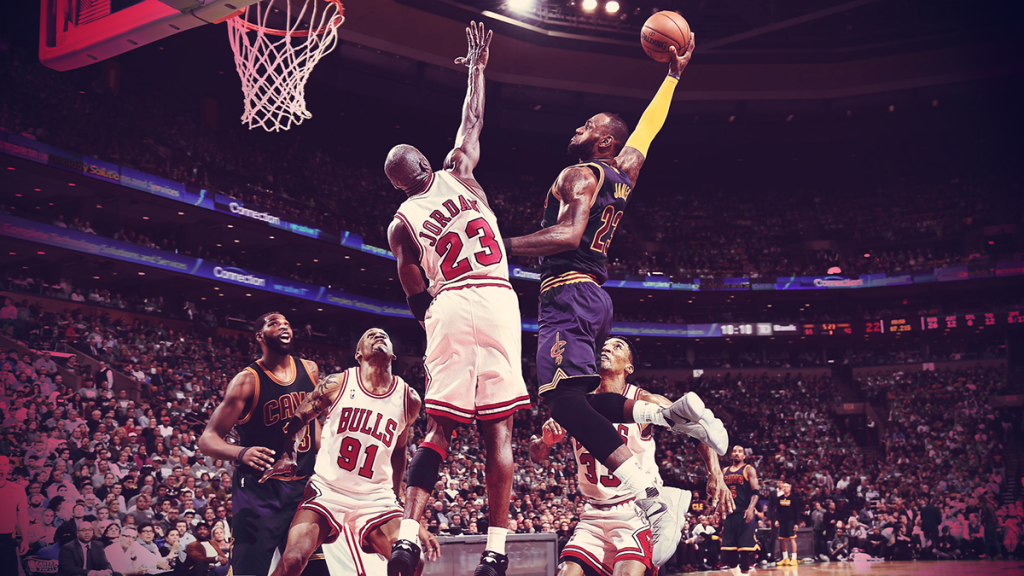 Is LeBron James Better than Michael Jordan?