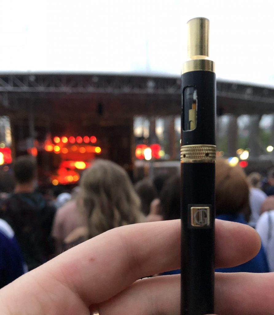 Gold Therapy Vape Pen Review at the TDE Championship