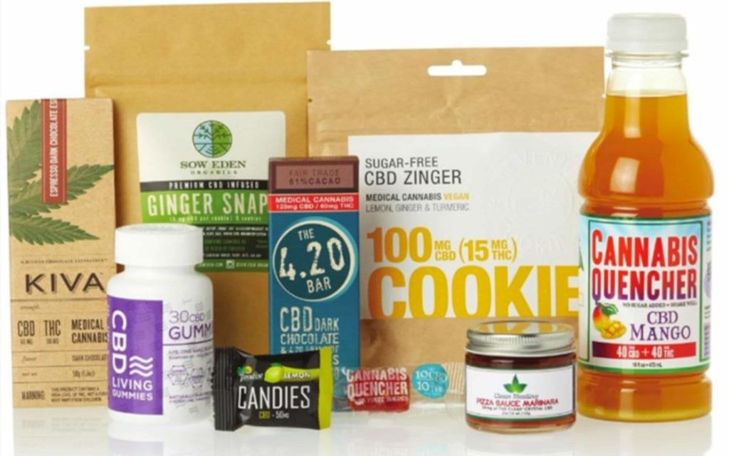 What are the different forms of CBD edibles?