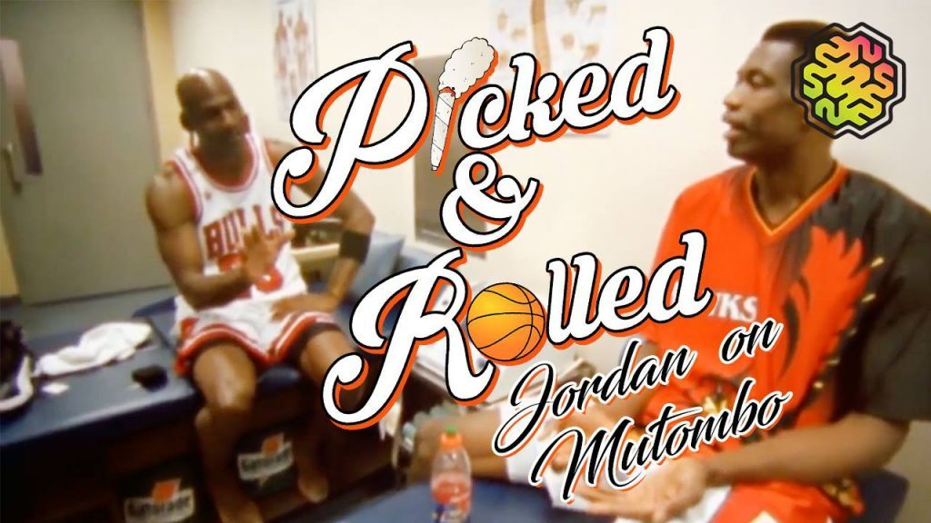 Jordan Dunks On Mutombo || Picked & Rolled