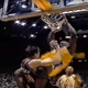 Shaq dunks on Chris Dudley