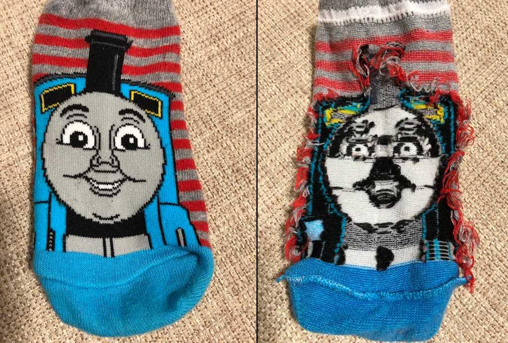 socks reverse Trippy Image socks