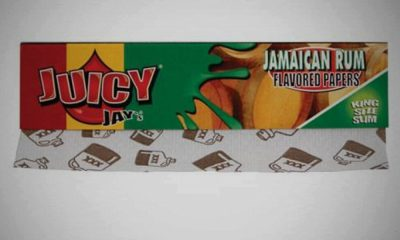Juicy Jays Rolling Papers Jamaica Rum