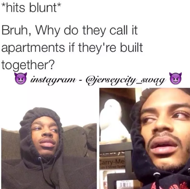 hit blunt meme