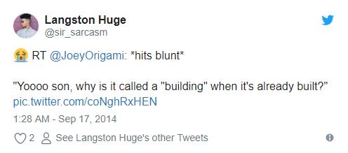 hit blunt meme built building Meme