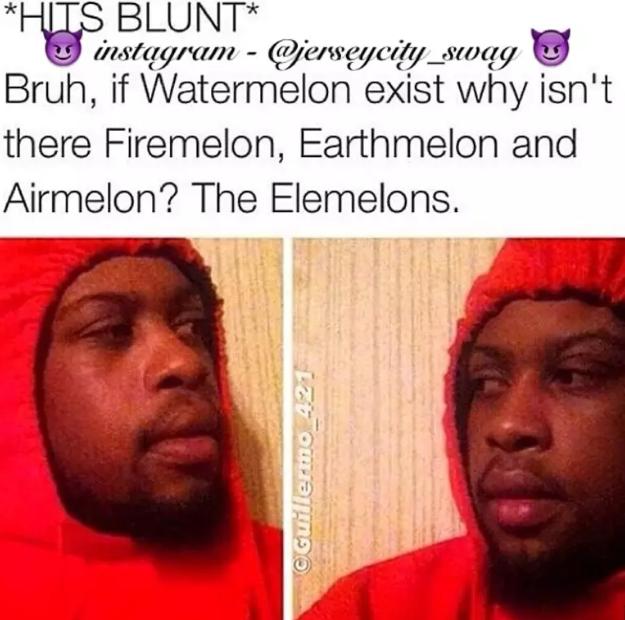 hit blunt memes Elemelons