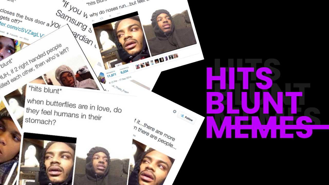 The Best Hits Blunt Memes On The Internet