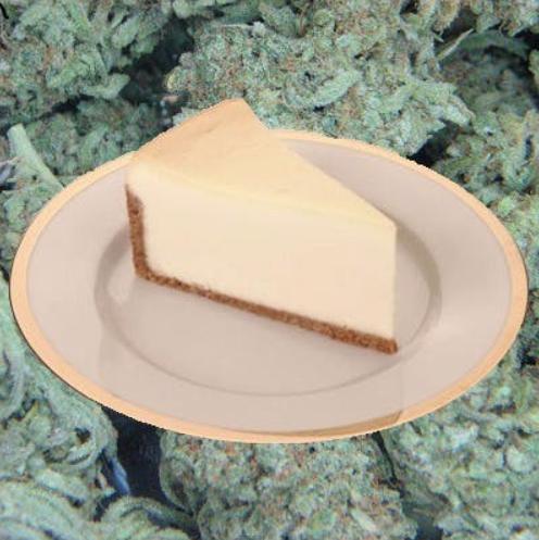 Weed cheesecake