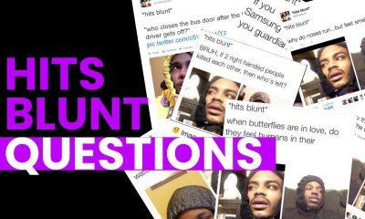 hits blunt questions