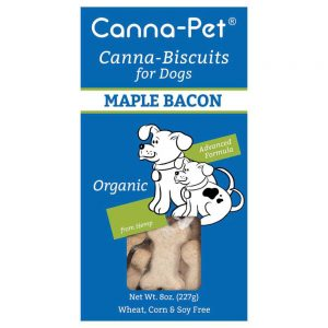 Canna pet biscuits maple bacon