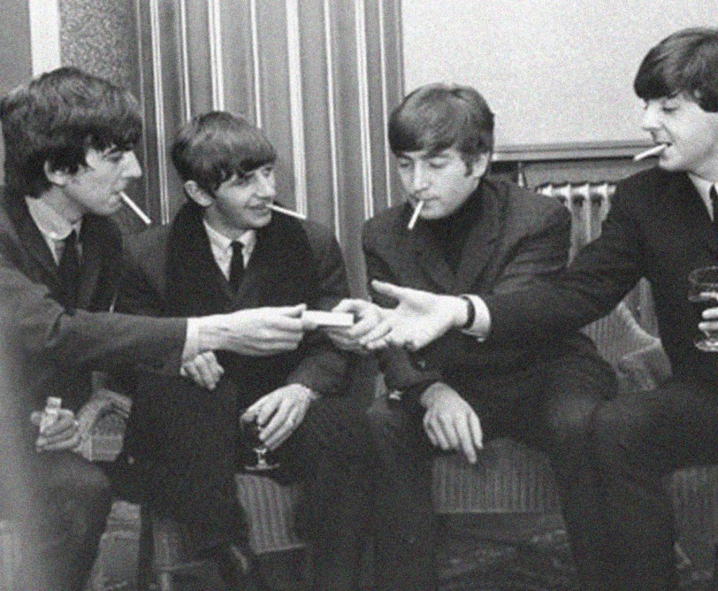 Beatles and weed