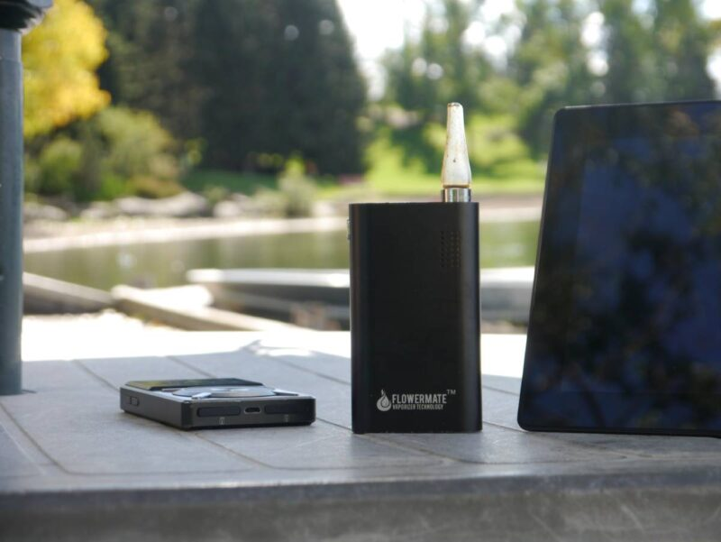 Vaporizer and tablet