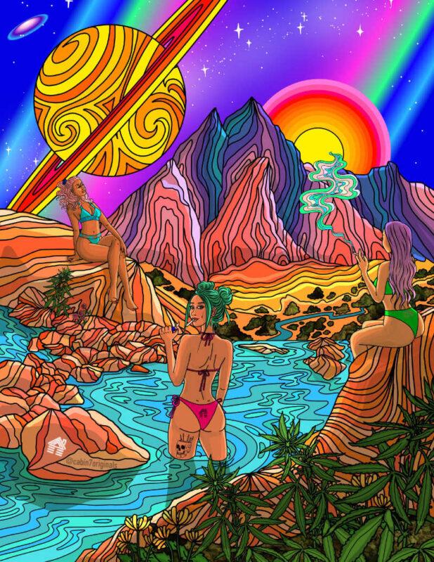 Illustration By Bridget Intessimone - Cabin 7 Originals
