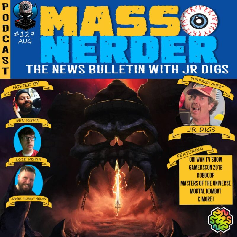 Mass Nerder – The News Bulletin with JR Digs