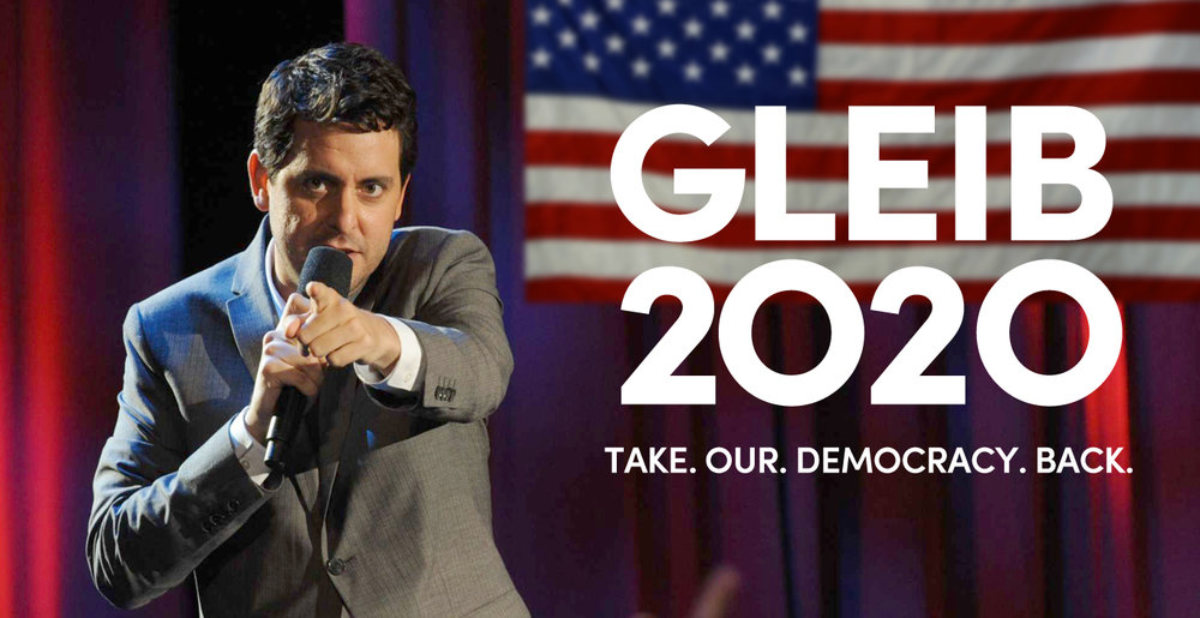 Ben Gleib For President! He's Our Kind of Candidate.