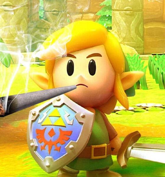 Mandarin Cookies Strain and Legend of Zelda: Link's Awakening NSW