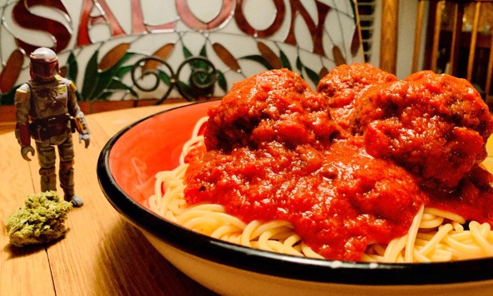 Nerdy Lasagna: Yoda OG, Mandalorian and Spaghetti Western Meatballs