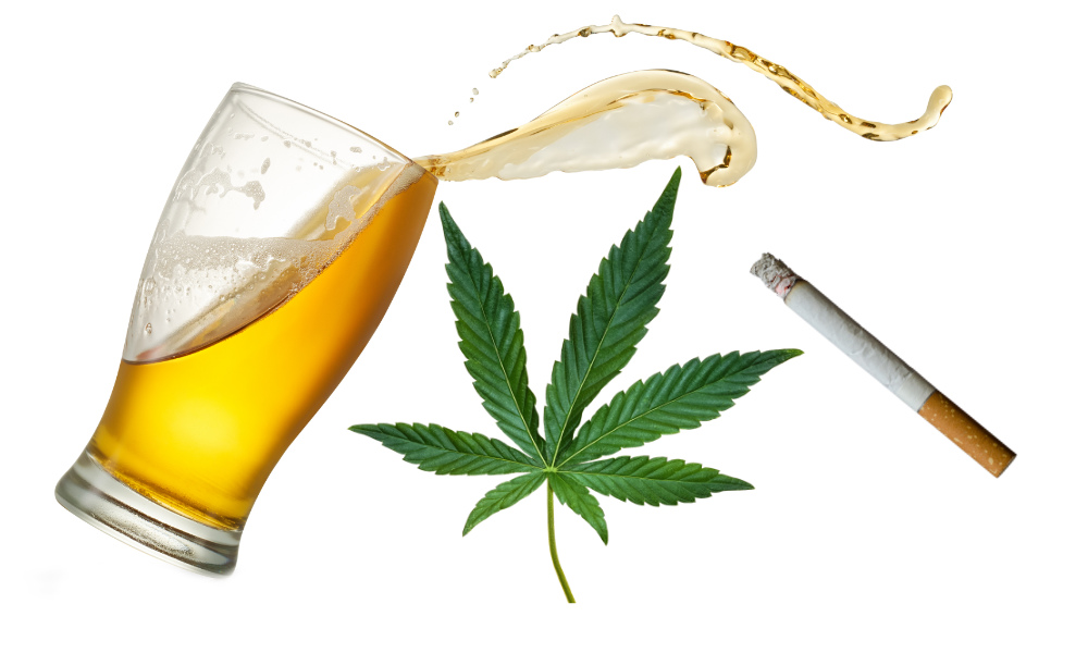 Marijuana vs. Tobacco vs. Alcohol: A Comparison of Their Effects